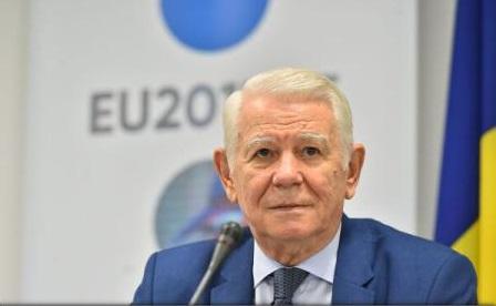 Teodor Meleșcanu: România ar putea adera la zona euro în 2022