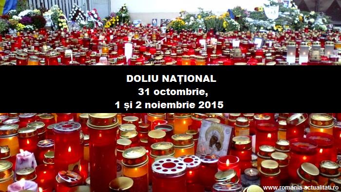 Tragedie petrecută în București la clubul Colectiv. Guvernul a decretat trei zile de doliu național