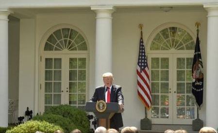 Trump le-a explicat personal lui Merkel, Macron, May și Trudeau decizia retragerii din acordul de la Paris