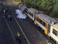 UPDATE Un tren a deraiat în nordul Spaniei; cel puțin doi morți