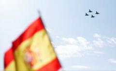 Un pilot de pe un avion Eurofighter s-a prăbușit după ce a participat la parada militară de Ziua Națională a Spaniei