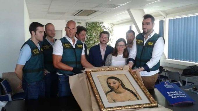 Un fost bancher spaniol, amendat cu 52 de milioane de euro pentru ''contrabandă'' cu un Picasso
