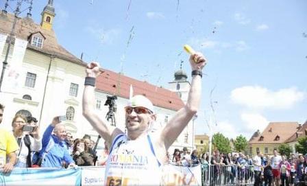 Un român intrat în Cartea Recordurilor, câștigătorul Maratonului Internațional Sibiu