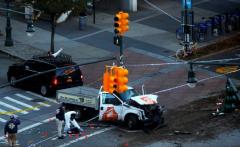VIDEO: Atac terorist la New York-Un vehicul a intrat în mulțime și a făcut mai multe victime