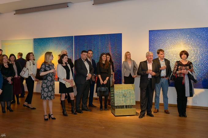 Lucrările artiștilor români din diaspora, promovate la Bruxelles în cadrul Festivalului de cultură românească EuRoCultura