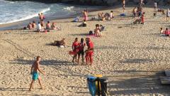 VIDEO: Operațiune dificilă de căutare a unui român înecat în Tarragona