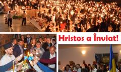 VIDEO/FOTO: Românii din Spania au sărbătorit Sfintele Paști într-un mod autentic românesc