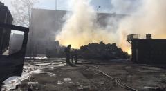 VIDEO: Un incendiu din Fuenlabrada a ținut în alertă 3 municipii din comunitatea Madrid, de peste 34.500 de locuitori