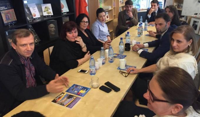 Vizita de lucru a ministrului delegat Maria Ligor la Bruxelles