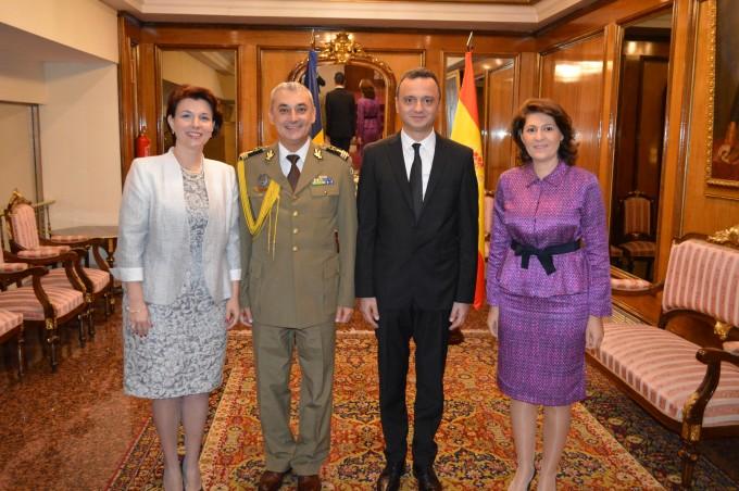 Ziua Armatei Române sărbătorită la Madrid
