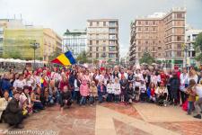 VIDEO: Ziua României sărbătorită în Valencia (Spania) cu un flashmob românesc în premieră