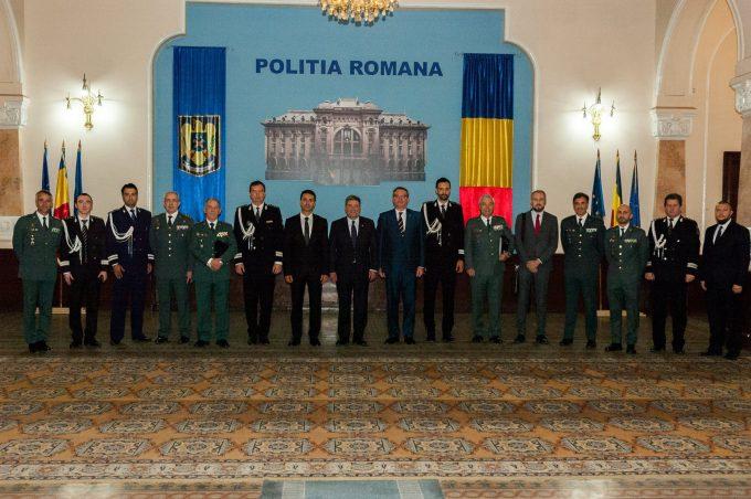 Șeful Poliției Române și Șeful Gărzii Civile Spaniole au semnat un parteneriat împotriva crimei organizate