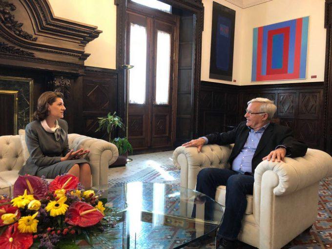 Întrevederea Ambasadorului României cu primarul oraşului Valencia