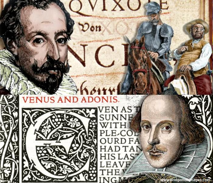 În 2016, se împlinesc 400 de ani de la moartea a doi mari scriitori universali, Cervantes și Shakespeare