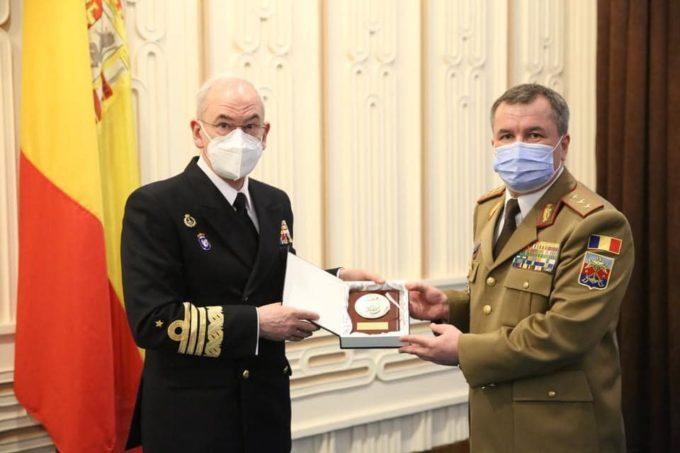 Întâlnirea șefilor Apărării din Regatul Spaniei și România