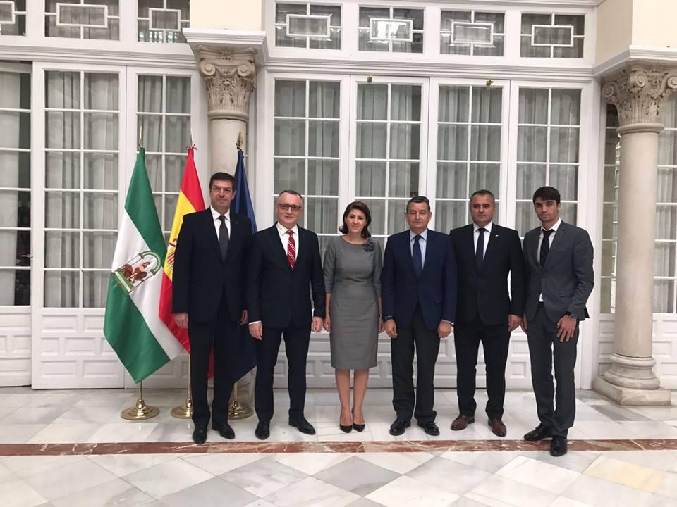 Întrevederea ambasadorului României cu Delegatul guvernului spaniol în Andaluzia