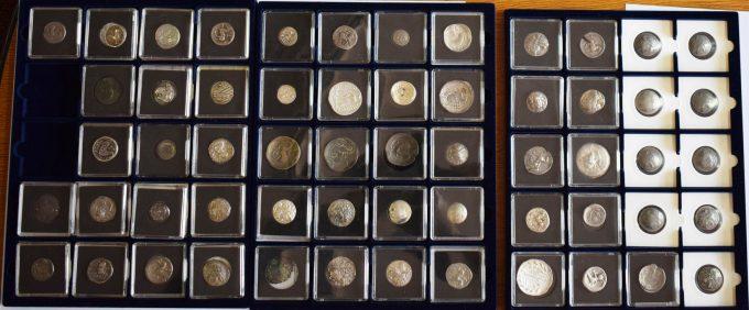 164 de monede antice sustrase din Munţii Orăştiei, recuperate din Austria şi Germania