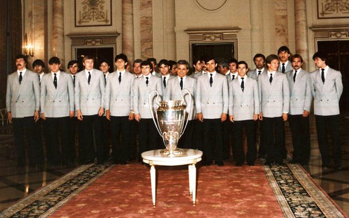 35 de ani de la câştigarea de către Steaua Bucureşti a Cupei Campionilor Europeni la fotbal (7 mai)