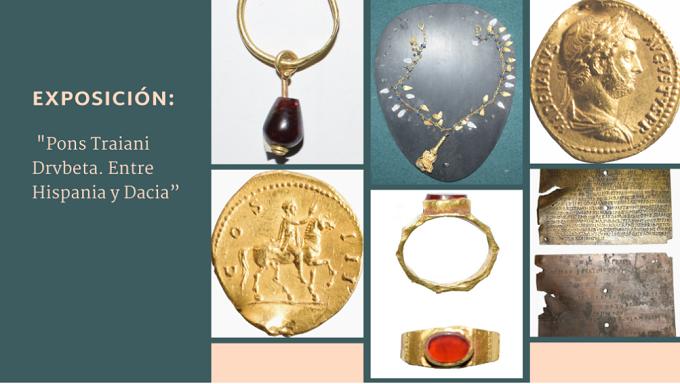 """94 piezas arqueológicas: La exposición """"Pons Traiani Drvbeta. Entre Hispania y Dacia"""""""
