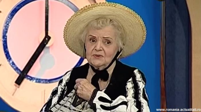 """A murit interpreta de muzică populară Lucreția Ciobanu, supranumită """"Doamna munților"""""""