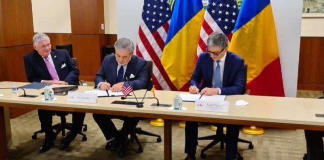 Acord de cooperare între SUA şi România pentru proiectele de la Cernavodă şi sectorul energiei civile