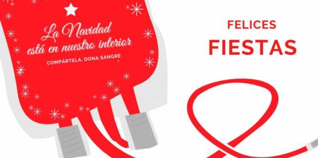 Activamos la Campaña de Navidad de donación de sangre con el objetivo de alcanzar 10000 donaciones