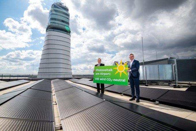 Aeroportul din Viena plănuieşte să construiască cea mai mare centrală fotovoltaică din Austria