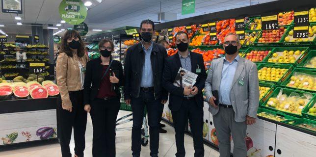 """Alberto Blázquez acude a la reapertura del supermercado Mercadona de El Ensanche tras convertirse en una """"tienda eficiente"""""""