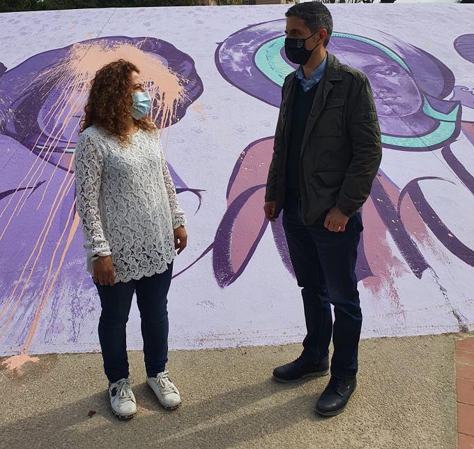 Alcalá de Henares convocará un Pleno Extraordinario para condenar la agresión vandálica al mural feminista