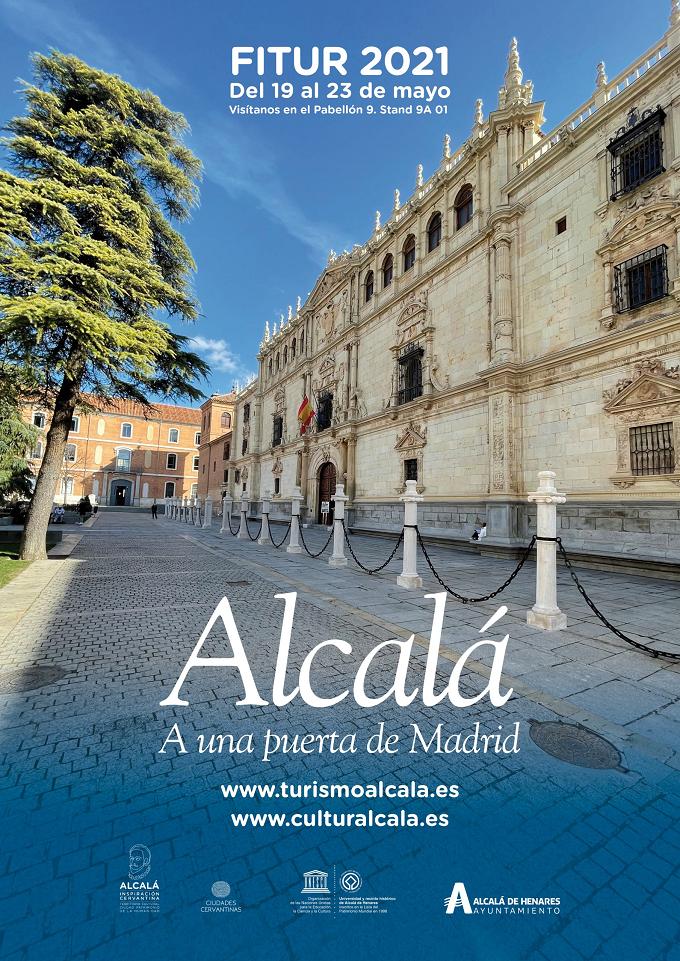 Alcalá de Henares presente en FITUR 2021 con stand propio-1