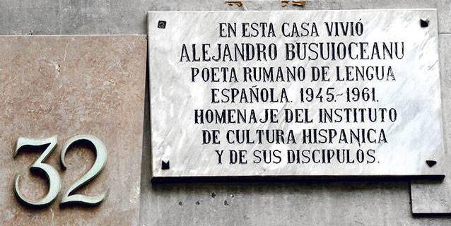 Alexandru Busuioceanu es una de las personalidades más importantes del exilio intelectual rumano en España