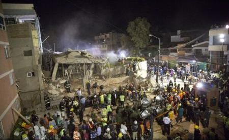 Ambasada României în Mexic face demersuri pentru a afla dacă sunt români printre victimele cutremurului