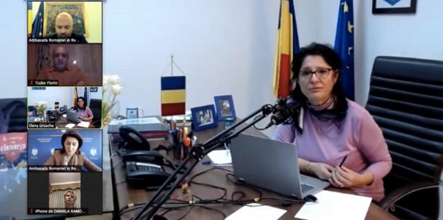 Ambasada României a organizat o videoconferință cu reprezentanții mediului asociativ, ai cultelor și ai grupurilor civice din Spania