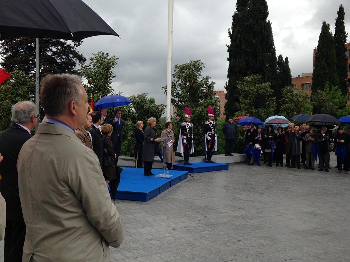 Ambasada României la Madrid a participat la o serie de ceremonii dedicate Zilei Europei - 9 mai