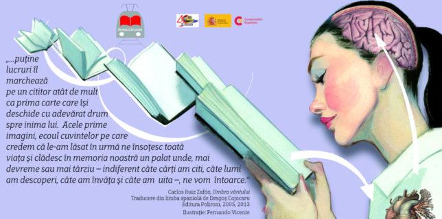 Ambasada Spaniei la București a lansat prima campanie de promovare a literaturii la metrou