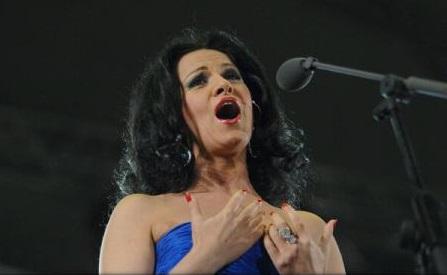 Angela Gheorghiu, alături de Jose Carreras și Placido Domingo, la un concert în memoria lui Luciano Pavarotti, la Verona