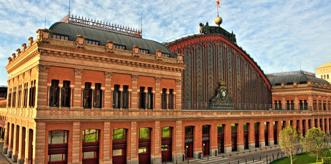 Anul European al Căilor Ferate Gări în care nu regreţi dacă ai pierdut trenul Madrid Atocha