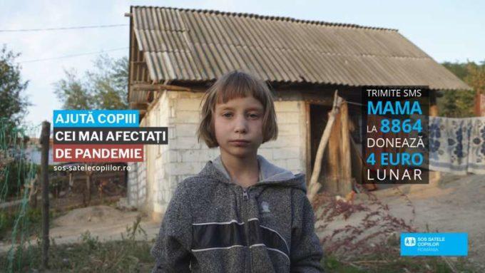 Asociaţia SOS Satele Copiilor România lansează campania ''Ajută copiii cei mai afectaţi de pandemie''