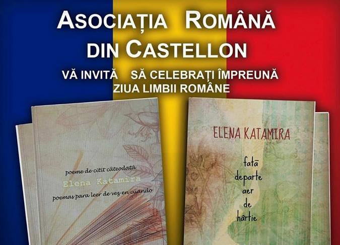 Asociația Română din Castellón vă invită la evenimentul Ziua Limbii Române
