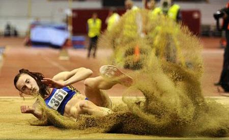 Atletism: Elena Andreea Panţuroiu, locul al doilea la triplusalt, în reuniunea de la Madrid