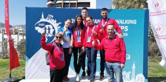 Atletism: România a cucerit cinci medalii la Campionatele Balcanice de marş