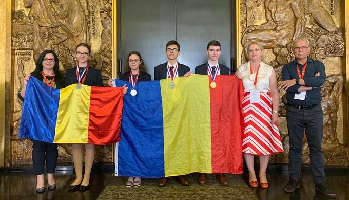 Aur şi Argint pentru România la Olimpiada Internaţională de Chimie 2019