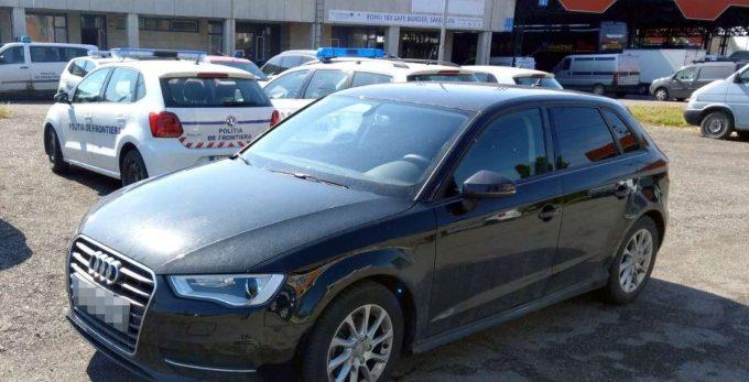 Autoturism căutat de autorităţile din Spania, depistat la P.T.F. Borș