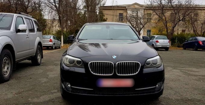 Autoturism marca BMW furat din Spania, descoperit la Constanţa