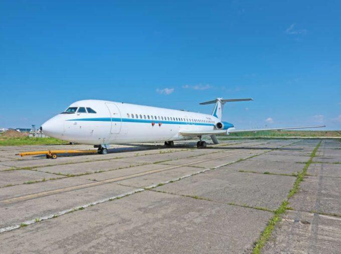 Avioanele prezidenţiale folosite de Ceauşescu şi Iliescu, adjudecate la licitaţie