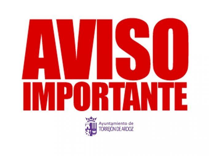Ayuntamiento de Torrejón de Ardoz: Medidas Adicionales de Protección a las ordenadas por las autoridades sanitarias