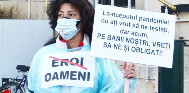 Bărăscu (Sanitas): Suntem împotriva obligativităţii vaccinării şi împotriva taxării angajaţilor nevaccinaţi cu costurile testelor