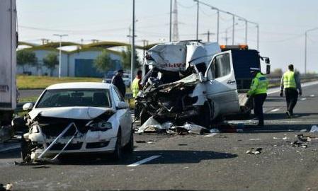 Banca Mondială: Numărul accidentelor mortale pe străzile din România, dublu față de media țărilor UE 28