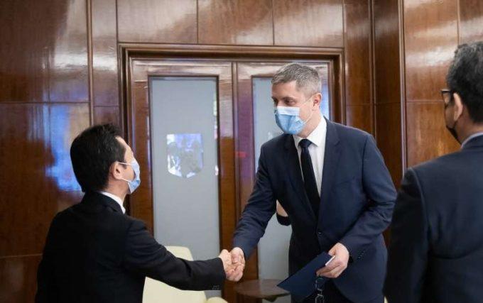 Barna, întrevedere cu ambasadorul nipon: Japonia, cel mai mare investitor asiatic din România