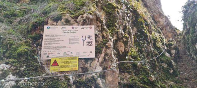 Bihor: Un nou traseu de via ferrata, în Pădurea Craiului, inaugurat în Cheile Cuţilor, comuna Roşia